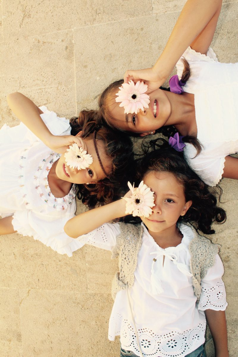 otoño boho con niñas muy chic