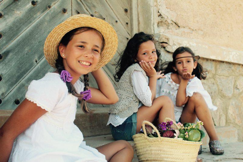 estilo boho chic para niñas este otoño en moda infantil almería